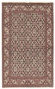 Bidżar Dywan 112X177 Orientalny Tkany Ręcznie Ciemnobrązowy/Jasnoszary (Wełna, Persja/Iran)