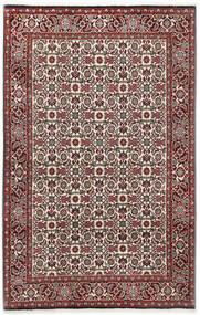 Bidżar Dywan 110X173 Orientalny Tkany Ręcznie Ciemnobrązowy/Ciemnoczerwony (Wełna, Persja/Iran)