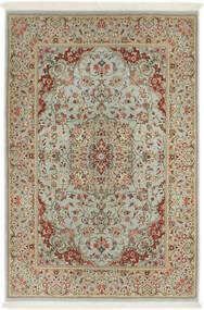 Ilam Sherkat Farsh Jedwab Dywan 110X168 Orientalny Tkany Ręcznie Jasnobrązowy/Jasnoszary (Wełna/Jedwab, Persja/Iran)