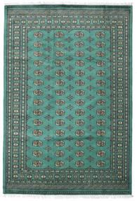 Pakistański Bucharski 2Ply Dywan 187X276 Orientalny Tkany Ręcznie Turkusowy Niebieski/Ciemnoszary (Wełna, Pakistan)