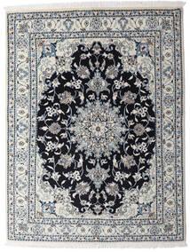 Nain Dywan 150X195 Orientalny Tkany Ręcznie Jasnoszary/Ciemnoszary (Wełna, Persja/Iran)