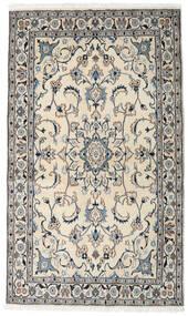 Nain Dywan 120X204 Orientalny Tkany Ręcznie Jasnoszary/Beżowy (Wełna, Persja/Iran)