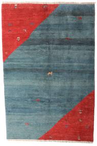Gabbeh Rustic Dywan 203X305 Nowoczesny Tkany Ręcznie Niebieski/Rdzawy/Czerwony (Wełna, Persja/Iran)