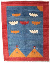 Gabbeh Rustic Dywan 208X265 Nowoczesny Tkany Ręcznie Niebieski/Czerwony (Wełna, Persja/Iran)