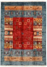 Shabargan Dywan 174X239 Nowoczesny Tkany Ręcznie Ciemnoszary/Rdzawy/Czerwony (Wełna, Afganistan)