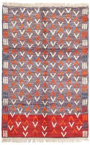 Moroccan Berber - Afghanistan Dywan 115X180 Nowoczesny Tkany Ręcznie Jasnofioletowy/Beżowy (Wełna, Afganistan)