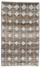 Moroccan Berber - Afghanistan Dywan 115X188 Nowoczesny Tkany Ręcznie Jasnoszary/Ciemnoszary (Wełna, Afganistan)