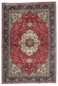 Tebriz Dywan 100X150 Orientalny Tkany Ręcznie Czarny/Ciemnoszary (Wełna, Persja/Iran)