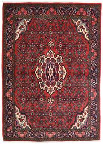 Bidżar Dywan 106X150 Orientalny Tkany Ręcznie Ciemnoczerwony/Rdzawy/Czerwony (Wełna, Persja/Iran)