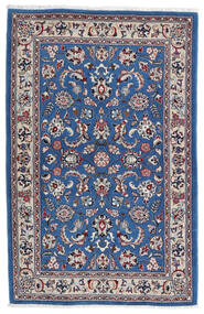 Kashmar Dywan 105X160 Orientalny Tkany Ręcznie Jasnoszary/Ciemnoniebieski (Wełna, Persja/Iran)