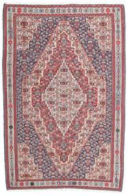 Kilim Senneh Dywan 148X225 Orientalny Tkany Ręcznie Ciemnoszary/Jasnoszary (Wełna, Persja/Iran)