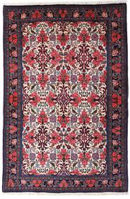 Bidżar Dywan 105X159 Orientalny Tkany Ręcznie Ciemnoniebieski/Ciemnofioletowy (Wełna, Persja/Iran)
