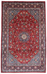 Hamadan Shahrbaf Dywan 215X340 Orientalny Tkany Ręcznie Ciemnofioletowy/Czerwony (Wełna, Persja/Iran)