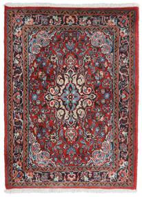 Hamadan Shahrbaf Dywan 71X95 Orientalny Tkany Ręcznie Ciemnoczerwony/Jasnoszary (Wełna, Persja/Iran)