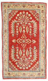 Saruk Dywan 78X135 Orientalny Tkany Ręcznie Rdzawy/Czerwony/Ciemnobeżowy (Wełna, Persja/Iran)