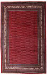 Saruk Mir Dywan 200X315 Orientalny Tkany Ręcznie Ciemnoczerwony/Ciemnobrązowy (Wełna, Persja/Iran)