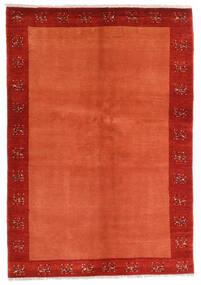 Loribaft (Persja) Dywan 139X202 Nowoczesny Tkany Ręcznie Rdzawy/Czerwony/Czerwony/Pomarańczowy (Wełna, Persja/Iran)