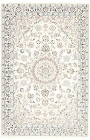 Nain 9La Dywan 115X177 Orientalny Tkany Ręcznie Biały/Creme/Beżowy/Jasnoszary (Wełna/Jedwab, Persja/Iran)