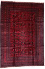 Afgan Khal Mohammadi Dywan 201X288 Orientalny Tkany Ręcznie Ciemnoczerwony (Wełna, Afganistan)