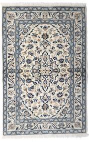 Keszan Dywan 100X150 Orientalny Tkany Ręcznie Jasnoszary/Ciemnoszary (Wełna, Persja/Iran)