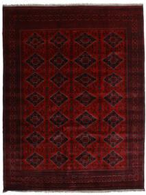 Kunduz Dywan 253X331 Orientalny Tkany Ręcznie Ciemnobrązowy/Ciemnoczerwony Duży (Wełna, Afganistan)