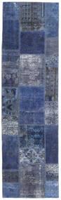 Patchwork - Persien/Iran Dywan 73X253 Nowoczesny Tkany Ręcznie Chodnik Ciemnoniebieski/Jasnofioletowy (Wełna, Persja/Iran)
