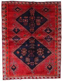 Lori Dywan 172X226 Orientalny Tkany Ręcznie Czerwony/Ciemnofioletowy (Wełna, Persja/Iran)