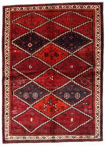 Lori Dywan 162X224 Orientalny Tkany Ręcznie Ciemnoczerwony (Wełna, Persja/Iran)
