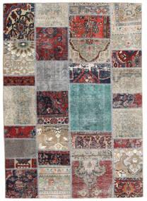 Patchwork - Persien/Iran Dywan 141X202 Nowoczesny Tkany Ręcznie Jasnoszary/Ciemnoszary (Wełna, Persja/Iran)