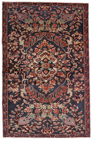Baktjar Dywan 133X205 Orientalny Tkany Ręcznie Ciemnoszary/Ciemnoczerwony (Wełna, Persja/Iran)
