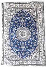 Nain Dywan 195X290 Orientalny Tkany Ręcznie Jasnoszary/Biały/Creme (Wełna, Persja/Iran)