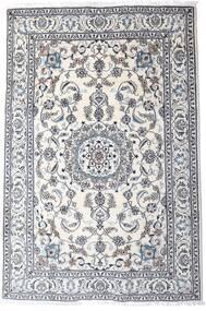Nain Dywan 200X298 Orientalny Tkany Ręcznie Jasnoszary/Biały/Creme (Wełna, Persja/Iran)
