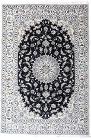 Nain Dywan 200X297 Orientalny Tkany Ręcznie Biały/Creme/Jasnoszary (Wełna, Persja/Iran)