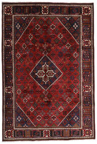 Joshaghan Dywan 209X311 Orientalny Tkany Ręcznie Ciemnoczerwony/Ciemnobrązowy (Wełna, Persja/Iran)