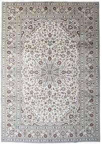 Keszan Dywan 245X343 Orientalny Tkany Ręcznie Jasnoszary/Ciemnoszary (Wełna, Persja/Iran)