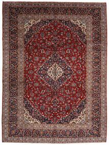 Keszan Dywan 294X400 Orientalny Tkany Ręcznie Ciemnoczerwony Duży (Wełna, Persja/Iran)