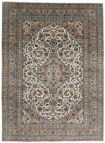 Keszan Dywan 248X328 Orientalny Tkany Ręcznie Ciemnoszary/Jasnoszary (Wełna, Persja/Iran)