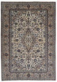 Keszan Dywan 237X343 Orientalny Tkany Ręcznie Ciemnoszary/Jasnoszary (Wełna, Persja/Iran)