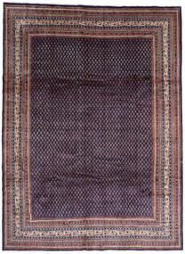 Saruk Mir Dywan 268X365 Orientalny Tkany Ręcznie Czarny/Ciemnofioletowy Duży (Wełna, Persja/Iran)