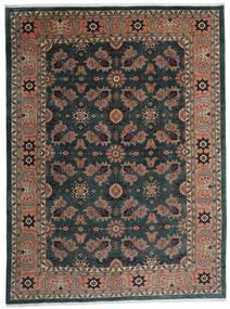 Ardabil Dywan 295X393 Orientalny Tkany Ręcznie Czarny/Ciemnoczerwony Duży (Wełna, Persja/Iran)