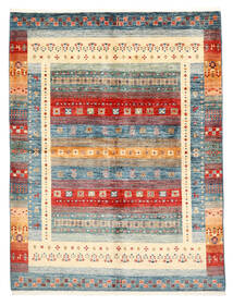 Nowoczesne Afgan Dywan 153X204 Nowoczesny Tkany Ręcznie Beżowy/Ciemnoszary (Wełna, Afganistan)