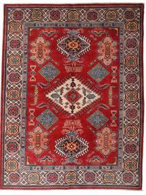 Kazak Dywan 152X198 Orientalny Tkany Ręcznie Ciemnoczerwony/Ciemnobrązowy (Wełna, Afganistan)