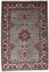 Kazak Dywan 120X175 Orientalny Tkany Ręcznie Ciemnobrązowy/Czarny (Wełna, Afganistan)