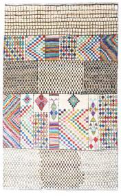 Moroccan Berber - Afghanistan Dywan 109X176 Nowoczesny Tkany Ręcznie Biały/Creme/Beżowy (Wełna, Afganistan)