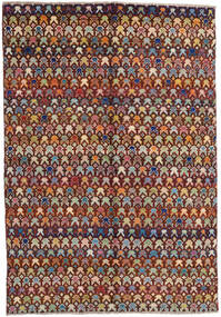 Moroccan Berber - Afghanistan Dywan 171X249 Nowoczesny Tkany Ręcznie Ciemnobrązowy/Jasnobrązowy (Wełna, Afganistan)