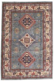 Kazak Dywan 196X292 Orientalny Tkany Ręcznie Ciemnoszary/Jasnoszary (Wełna, Afganistan)