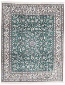 Nain 9La Dywan 252X306 Orientalny Tkany Ręcznie Jasnoszary/Ciemnoszary Duży (Wełna/Jedwab, Persja/Iran)