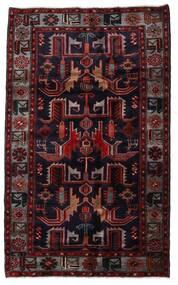 Hamadan Dywan 131X213 Orientalny Tkany Ręcznie Ciemnoczerwony (Wełna, Persja/Iran)