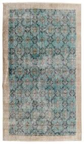 Vintage Heritage Dywan 112X197 Nowoczesny Tkany Ręcznie Jasnoszary/Turkusowy Niebieski (Wełna, Persja/Iran)