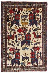 Afszar Dywan 126X188 Orientalny Tkany Ręcznie Ciemnoszary/Ciemnoczerwony (Wełna, Persja/Iran)